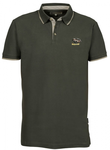 Polo - bawełniana koszulka z dzikiem ROZMIARY L-3XL