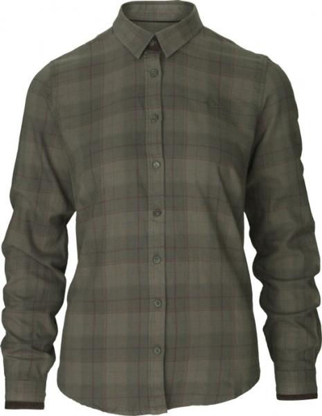 Range Lady pine green - bawełniana koszula dla Dian