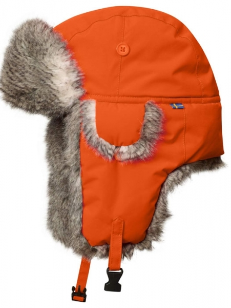 Varmland Heater safety orange - Czapka zimowa Fjallraven