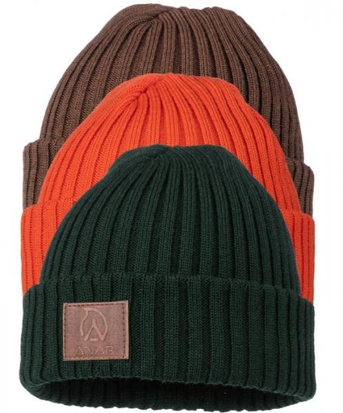 Jussa - czapka 100% wełna z merynosa 3 kolory!