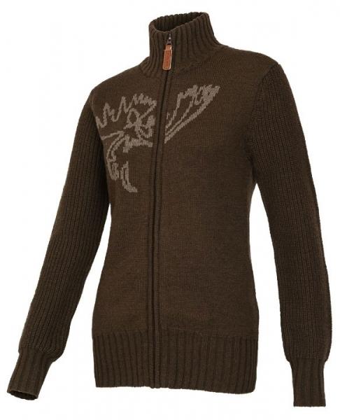 Anet cardigan - sweter rozpinany brązowy ROZM XXS,XS,S