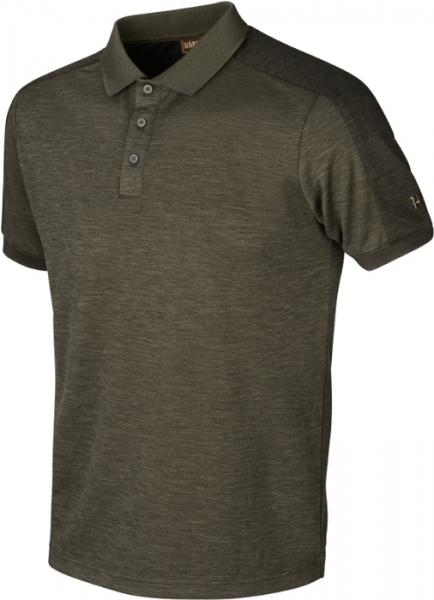 Harkila Tech Polo shirt willow green ROZMIARY DO 5XL!