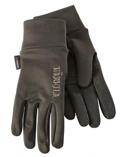 Rękawice Power Liner brąz Polartec® Power Stretch®