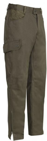 Sologne Skintane - całoroczne zwężane, wodoodporne spodnie
