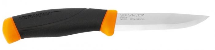 Nóż Mora Companion pomarańczowy stal nierdzewna