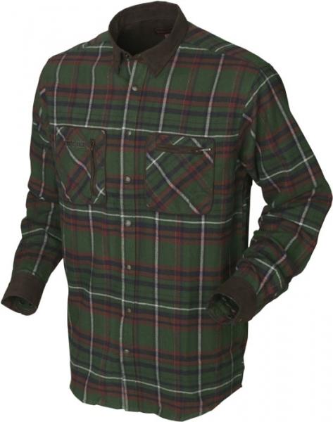 Pajala green - ciepła flanelowa koszula rozmiary do 5XL!