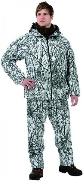 Camo Snow Light - zestaw maskujący Bluza i spodnie