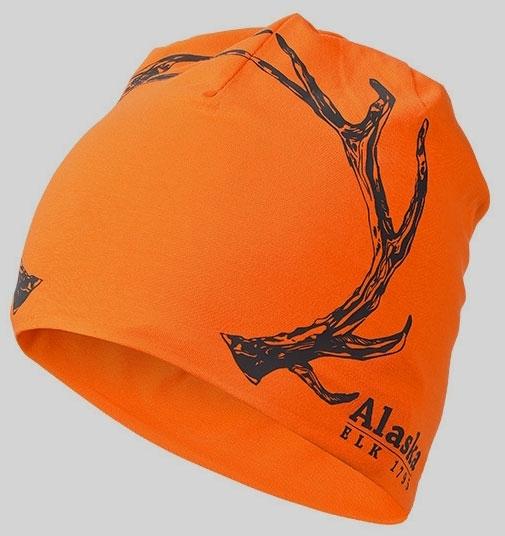 Czapka bawełniana Alaska pomarańczowa