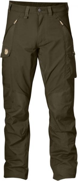 Abisko Fjallraven - spodnie trekkingowe wstawki ze streczu
