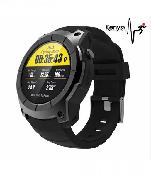 Kenys GPS V2  smartwatch z funkcją badania EKG