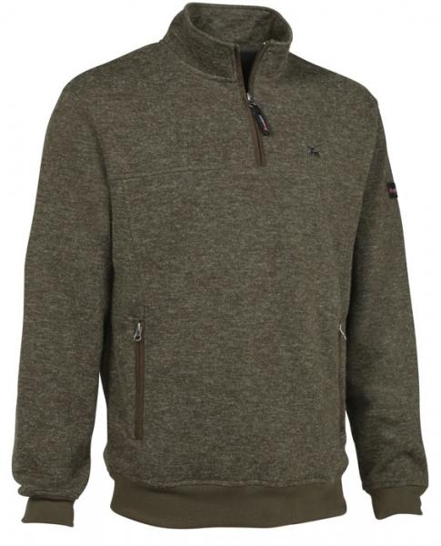 Muntjac - sweter z polarową podszewką wiatroszczelny