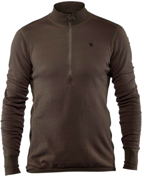 Varmland Woolterry Half Zip - wełniana koszulka Fjallraven