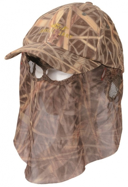 Forest Cap - letnia czapka Reed Camo z siatką