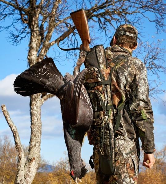 Alta rucksack Mossy Oak 12L - plecak z uchwytem na broń