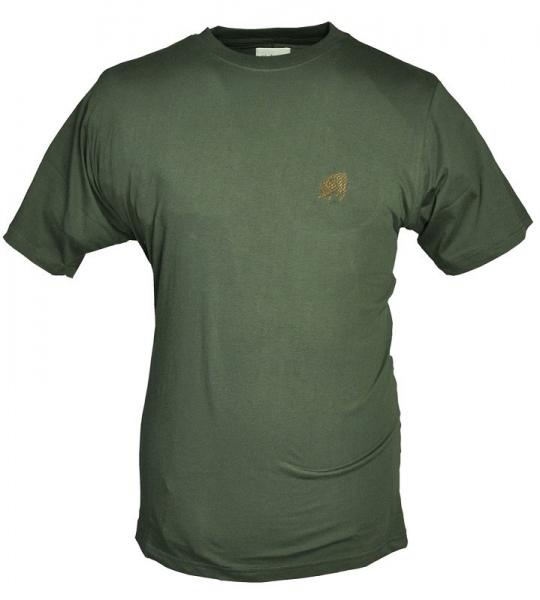Dzik - bawełniana koszulka ROZM M z haftowanym dzikiem