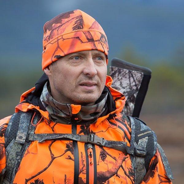 Ciepła polarowa czapka 300g orange BlindMax Blaze®