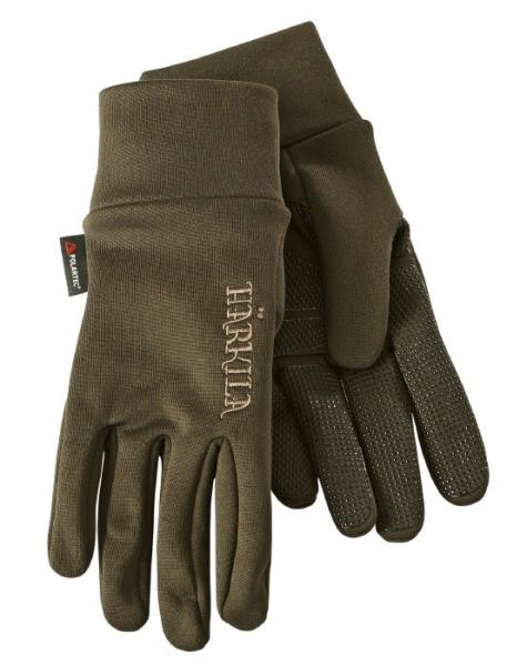 Rękawice Power Liner ciemna oliwka Polartec® Power Stretch®