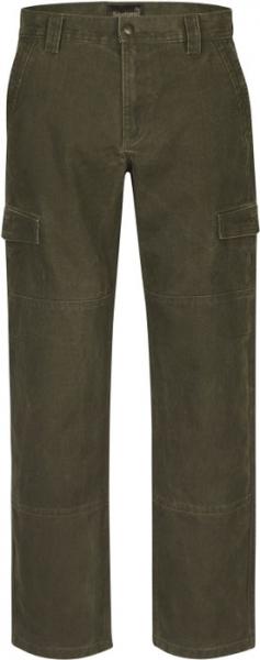 Flint olive - spodnie myśliwskie z mocnego bawełnianego płótna