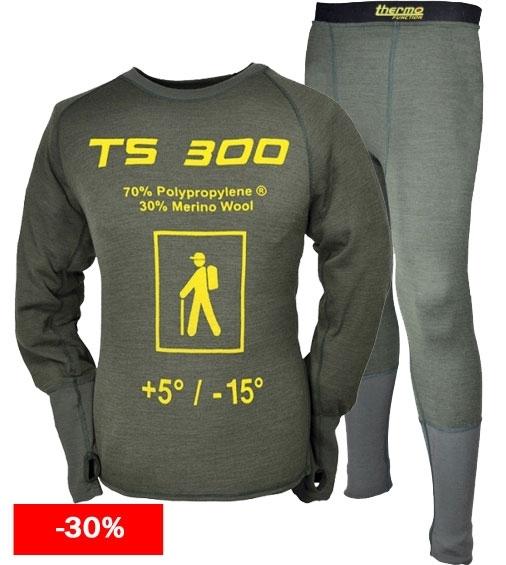 Bielizna termalna THERMO FUNCTION TS 300 komplet DO 6XL!