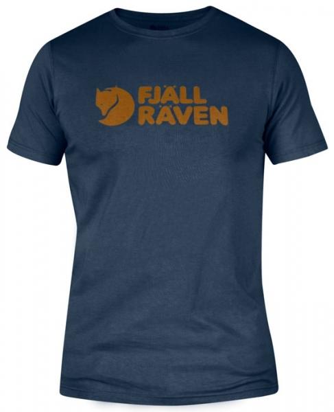 Logo T-shirt navy - koszulka Fjallraven