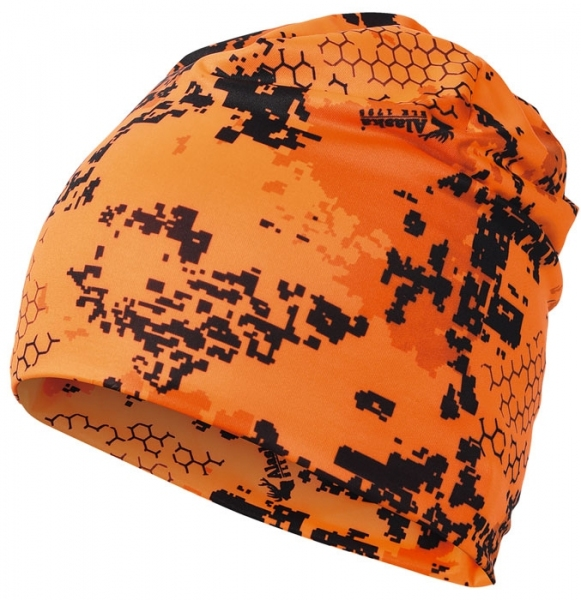 Cienka uniwersalna czapka Alaska orange BlindTech Invisible™