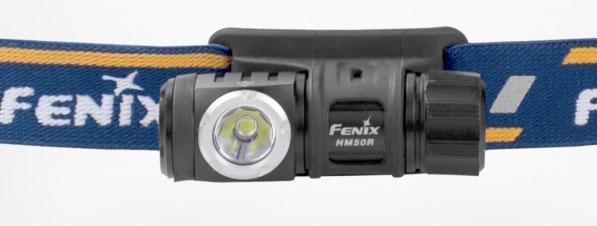 Latarka diodowa, czołowa Fenix HM50R - 500 lumenów