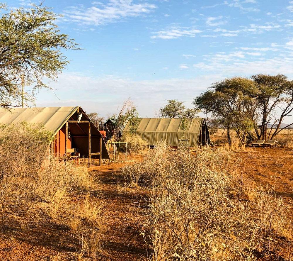 Pejzaż Nambii
