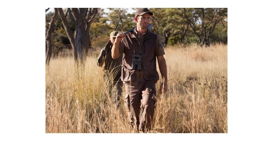 Ubranie myśliwskie na Safari